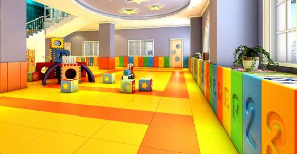 3D Floor Mat Play Ground 3
