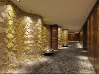 3D Wall Panel 6 Elements 8