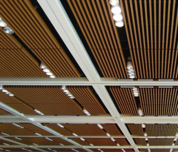 Suspended Ceiling Shopping Mall 1