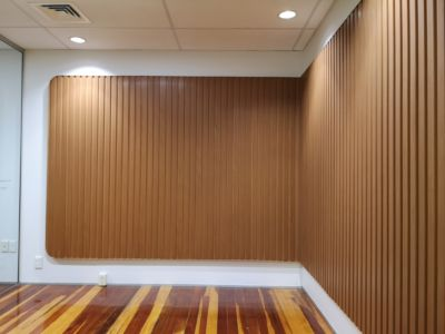 Decorative office feature wall 2