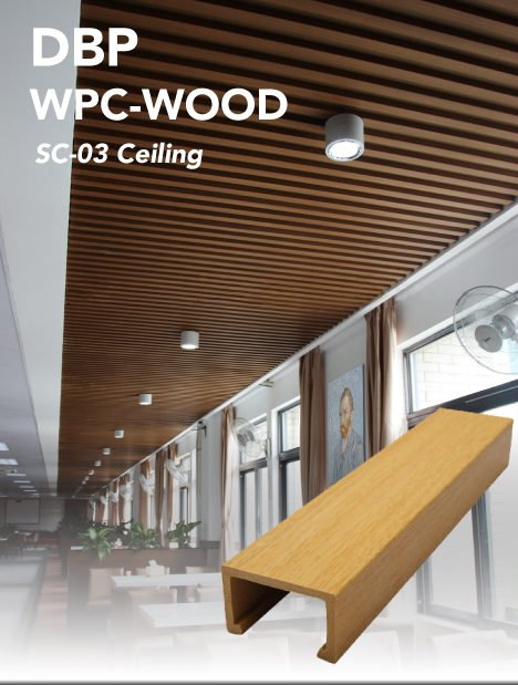 Floating ceiling panel 40x25