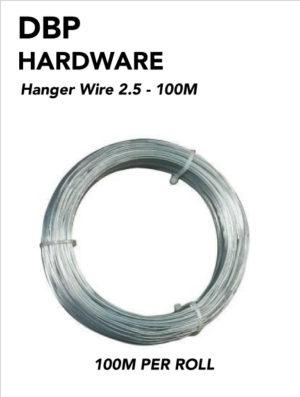 Hanger wire 100M Roll