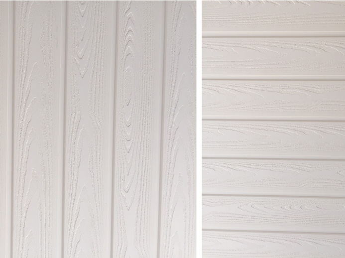 Interior Wall Panels 85 Flat White 4 Planks Pack For Home Office