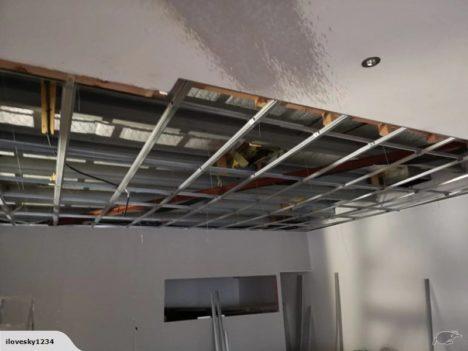 Gib ceiling rondo