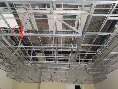 Gib ceiling framing