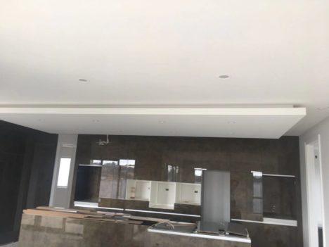 Gib ceiling finished